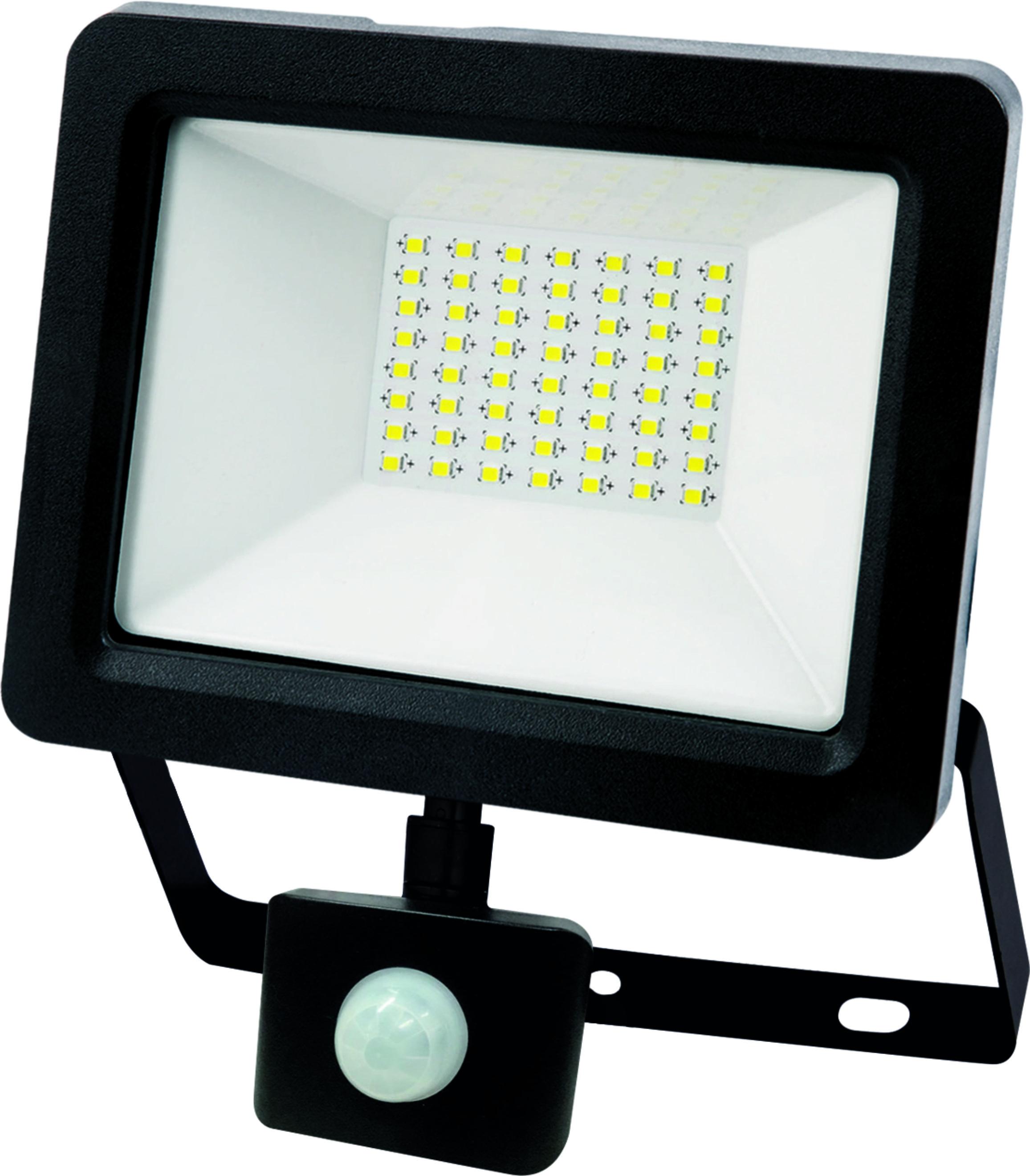 Naświetlacz Led 30w Z Mikrofalowym Czujnikiem Ruchu I Zmierzchu
